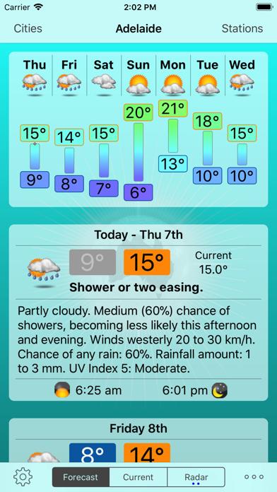 Oz Weather Plusのおすすめ画像1