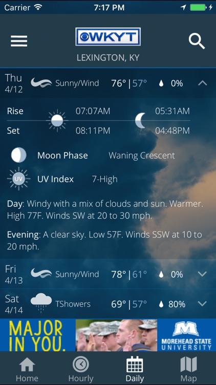 WKYT FirstAlert Weather screenshot-3