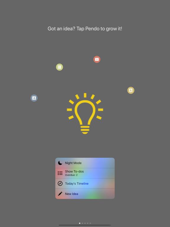 Pendo - Write Notes, List To-Dos, Plan Calendar & Share Ideas screenshot