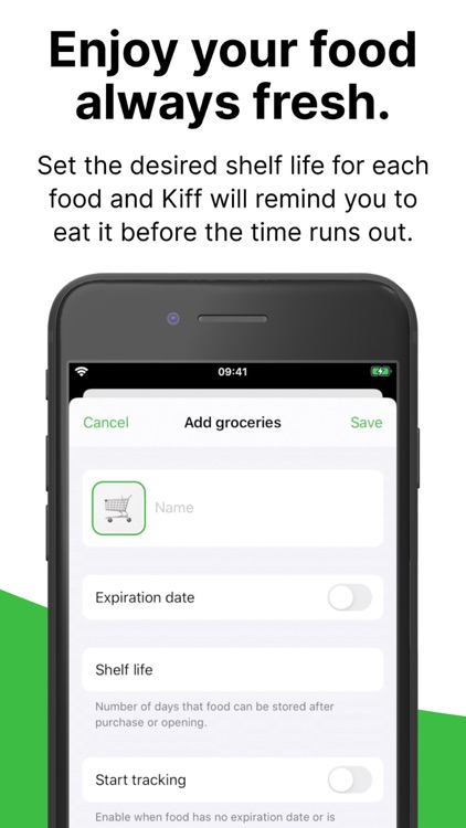 Kiff: Food expiration tracker screenshot-3