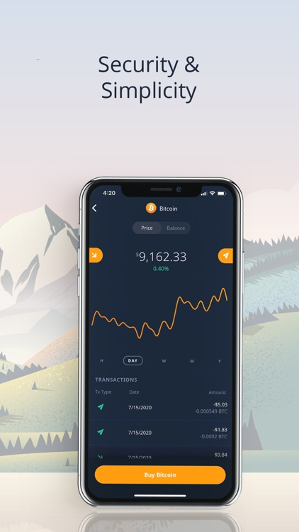 ShapeShift Wallet: Buy Bitcoin screenshot-3