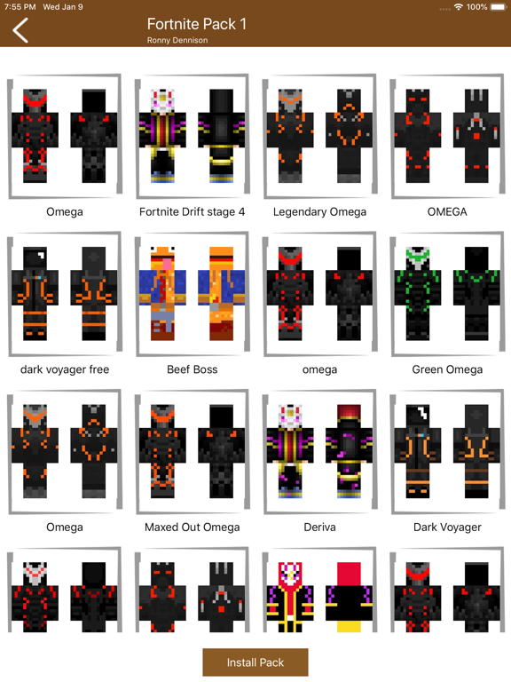 Skin Packs for Minecraft PE-ipad-1