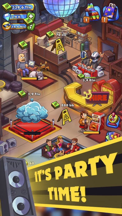 Party Clicker — Idle Tycoon Screenshot