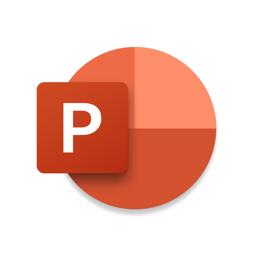 Ícone do app Microsoft PowerPoint
