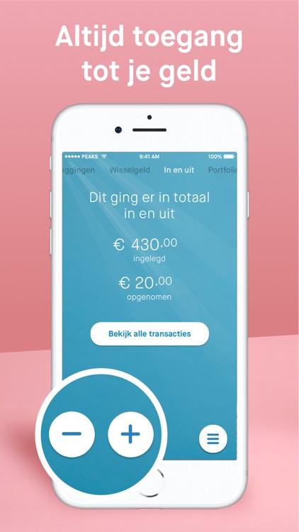 Peaks Beleggen screenshot-3