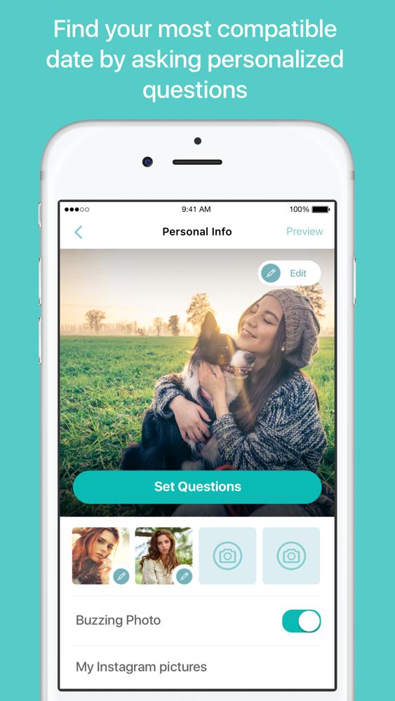 Online-dating-apps für das iphone