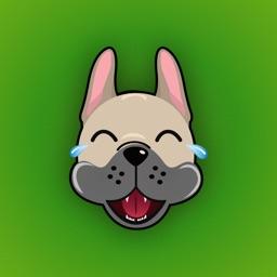 French Bulldog Emoji