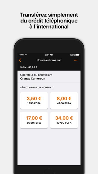 Orange Money France screenshot four