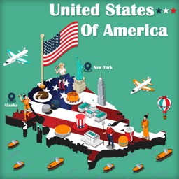 Map Of USA.