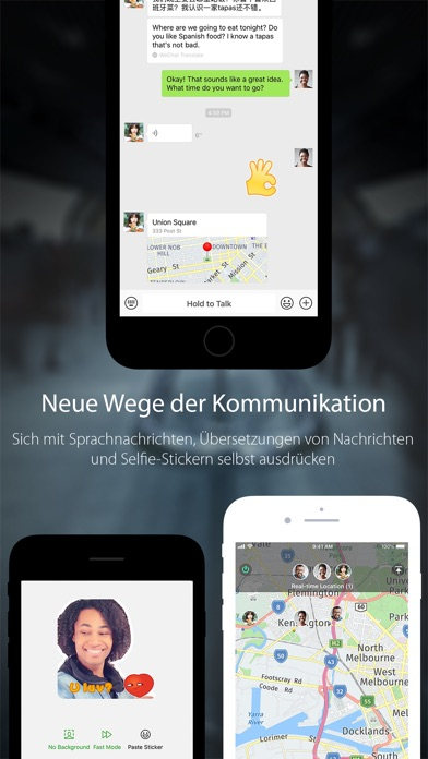 Screenshot for WeChat in Switzerland App Store