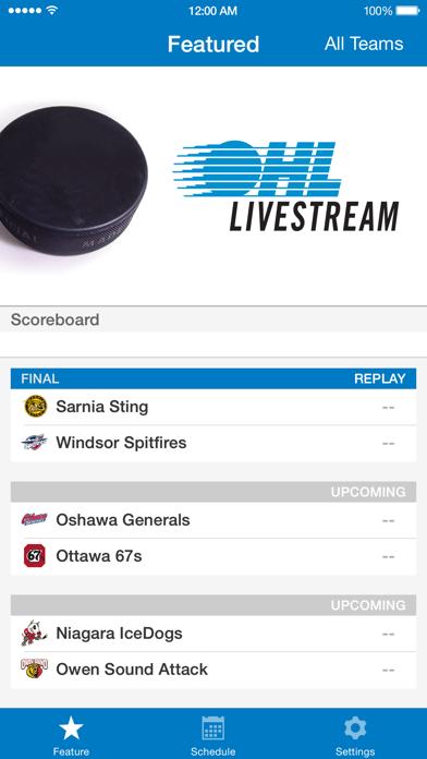 OHL Livestream screenshot two