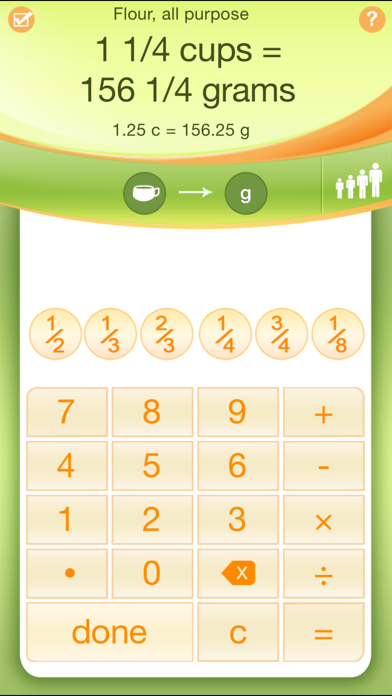 Kitchen Calculator Pro review screenshots