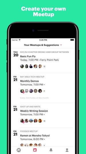 meetup activities today