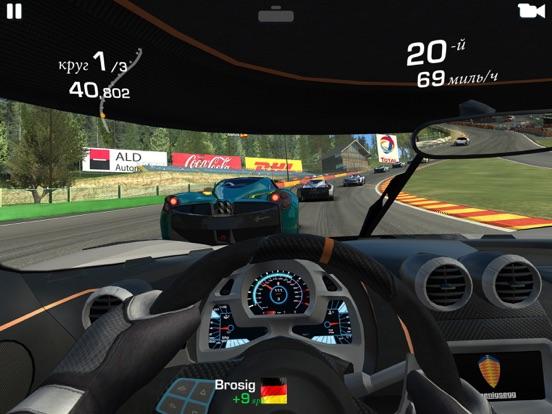 Real Racing 3 на iPad