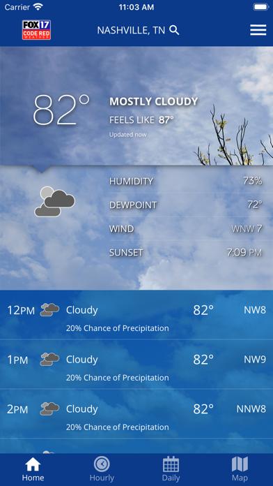 SKYWatch17 Weatherのおすすめ画像1