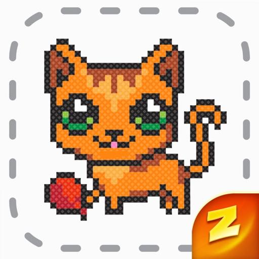 Magic Cross Stitch: Pixel Art icon