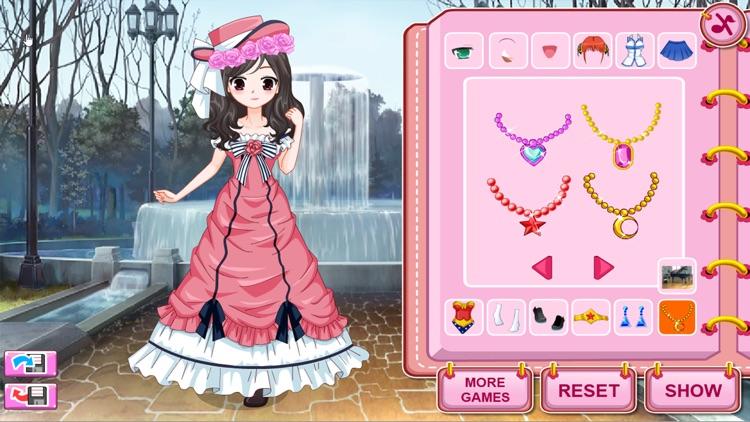 Dress Up Games, Cosplay Girls screenshot-7