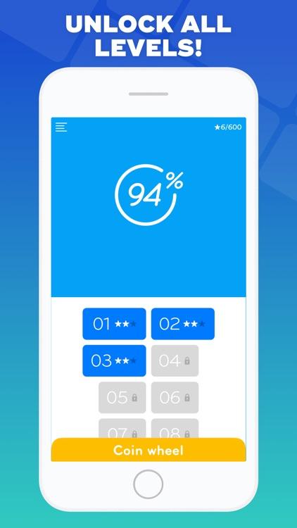 94% - Quiz, Trivia & Logic screenshot-3