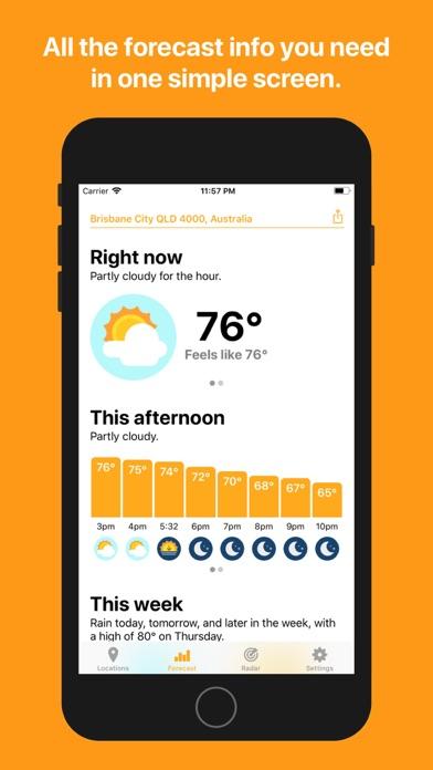 Hello Weather Screenshot