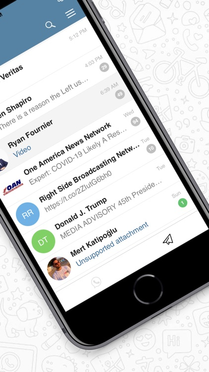 Messenger for WhatsApp & More screenshot-5