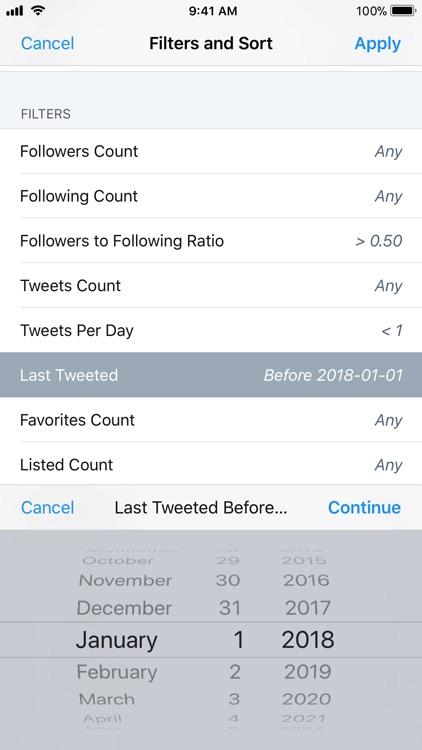 Who Unfollowed Me on Twitter screenshot-6