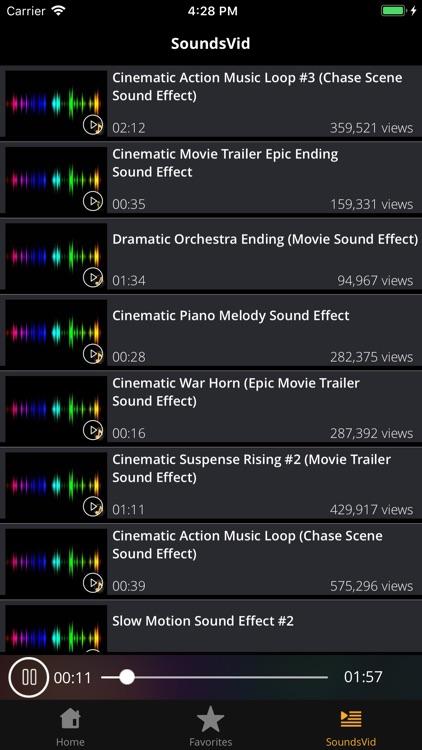 Sound Effects HD: Sounds&Audio screenshot-3
