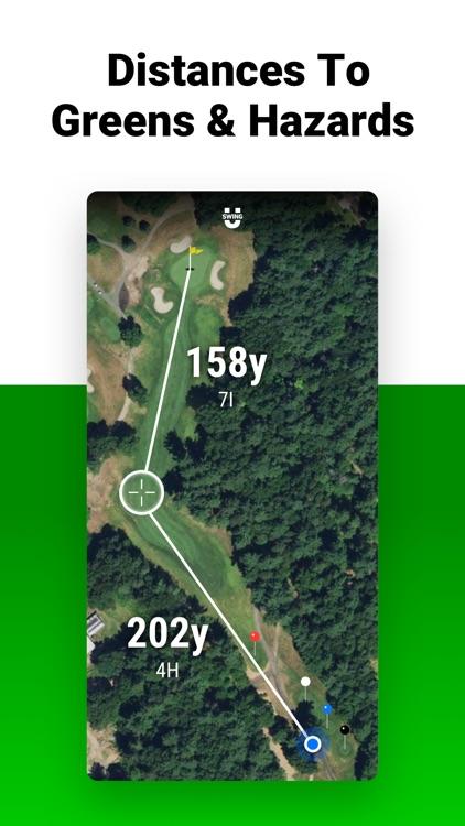 Golf GPS SwingU screenshot-3