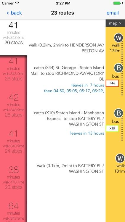 Staten Island Public Transport
