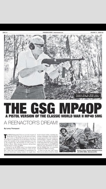 Firearms News Magazine screenshot-4