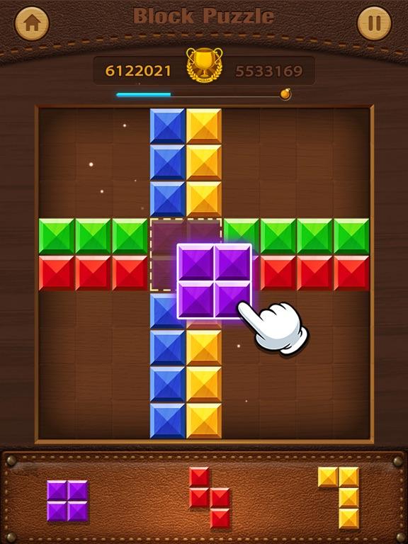 Скачать Wood Puzzle - Block Pop