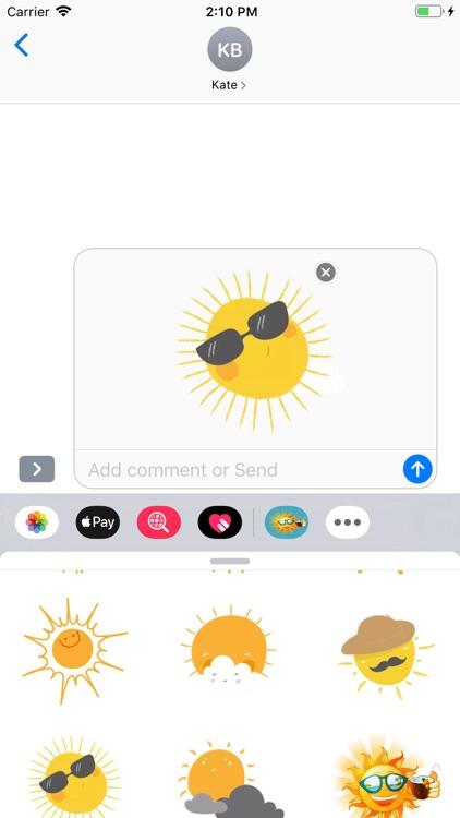 Sunshine Stickers Pack screenshot-7
