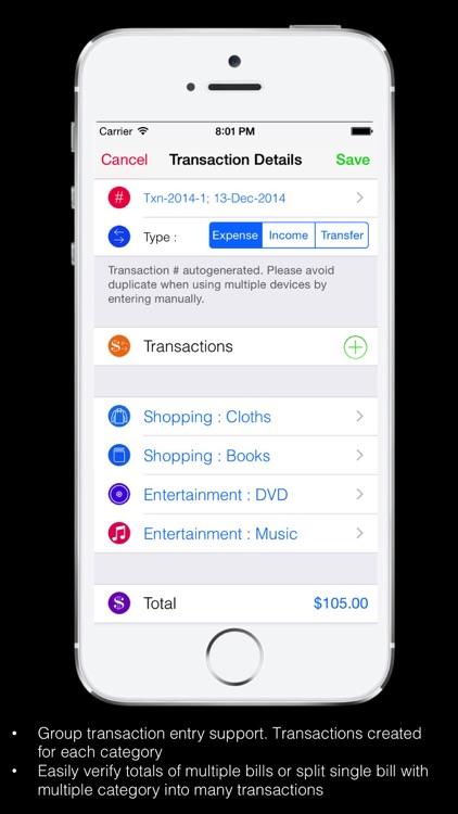 Home Budget Expense Account screenshot-4