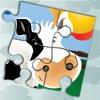 Animal Jigsaw Puzzle: Farm