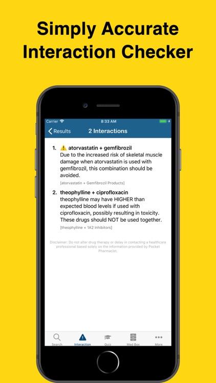 Pocket Pharmacist screenshot-4