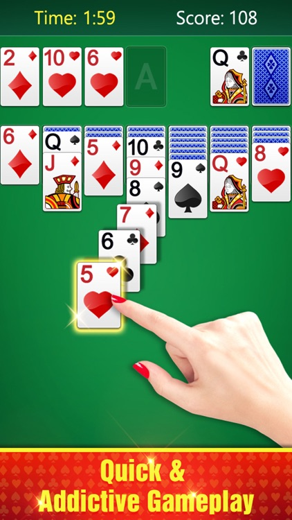 Happy Solitaire Card Game