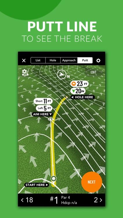 GolfLogix Golf GPS + Putt Line screenshot-4