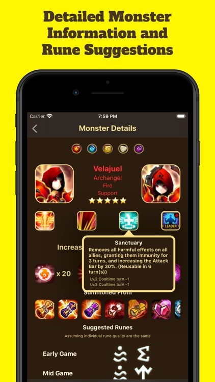 Game Guide for Summoners War