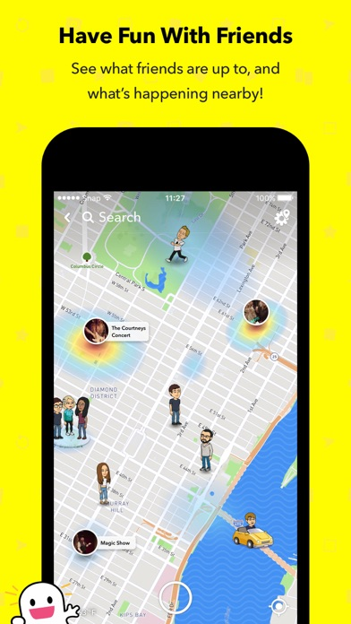 Screenshot for Snapchat in Argentina App Store