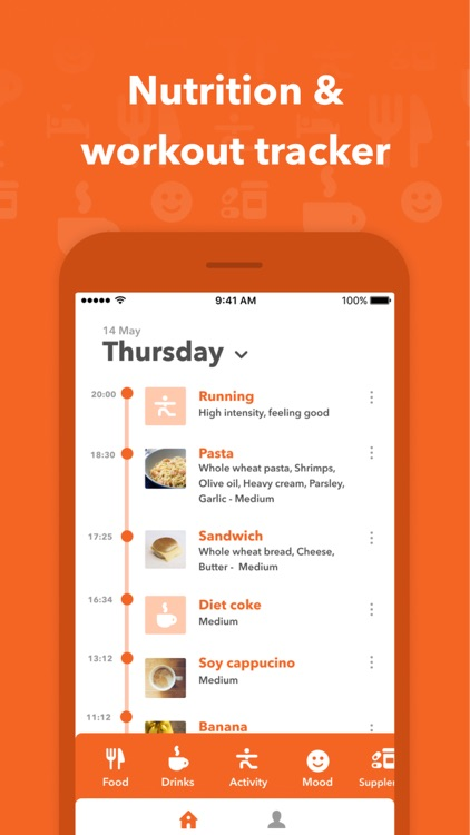 Clear: nutrition tracker