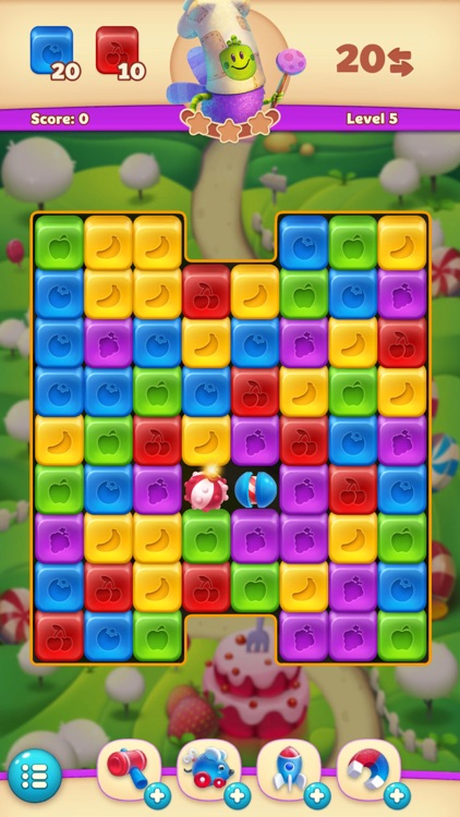 Jelly Cube Blast screenshot-0