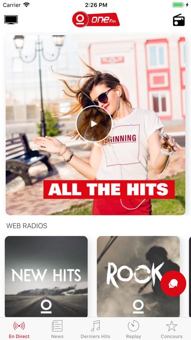 One FM screenshot one