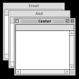 Ícone do app Front and Center