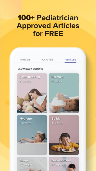 Glow Baby: Newborn Tracker Log Screenshot
