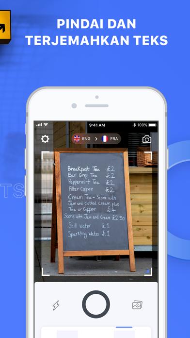 Screenshot for Triplens: Penerjemah Foto in Indonesia App Store