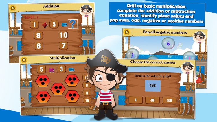 Pirate Kids 2nd Grade School