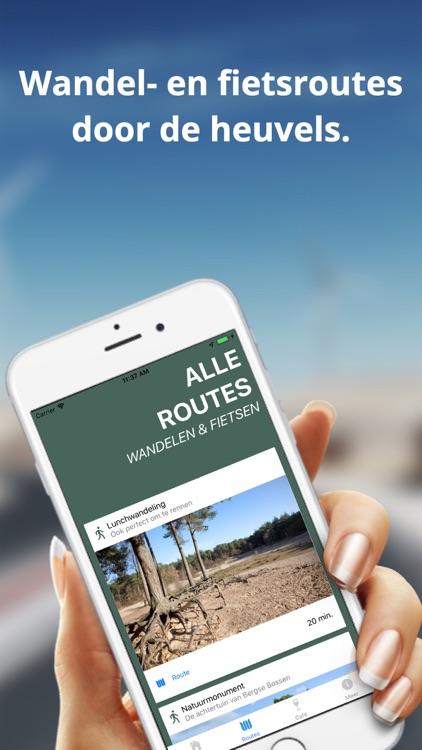 Routes - door Bergse Bossen