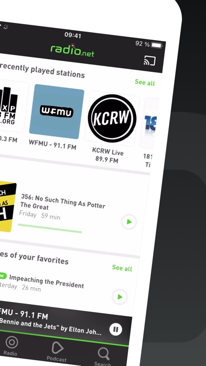 radio.net - Live FM radio app screenshot-1