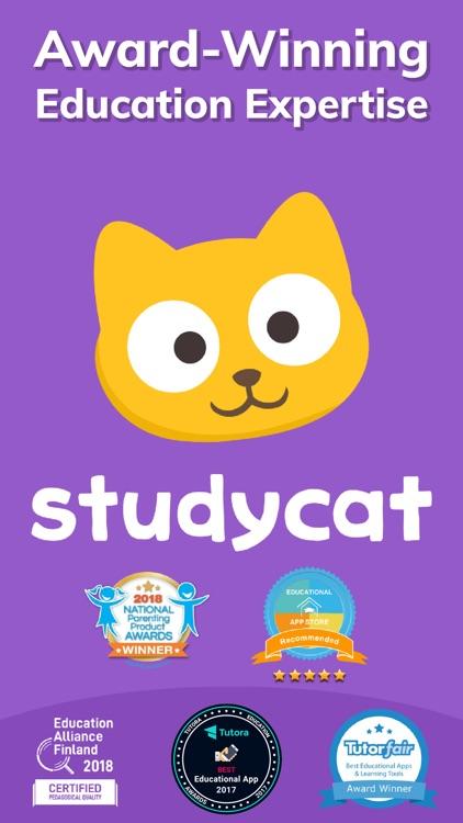 Studycat: Fun English for Kids screenshot-8