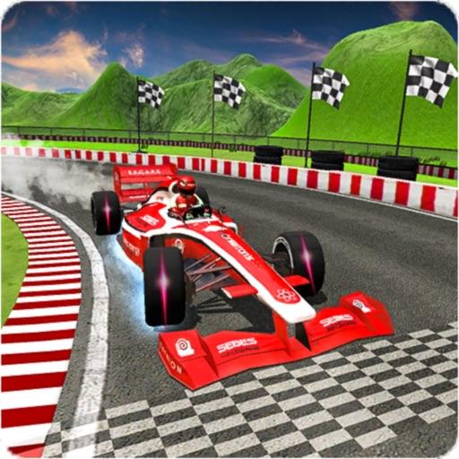 Formula Car Speed Drift Stunt