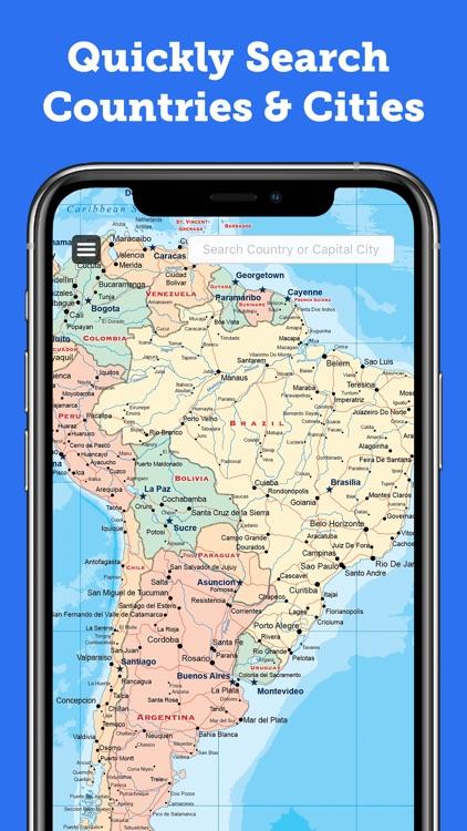 World Map 2020 Pro